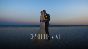 CHARLOTTE AND AJ beach wedding